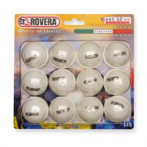 12 Palline da Ping Pong Rovera GARA-0