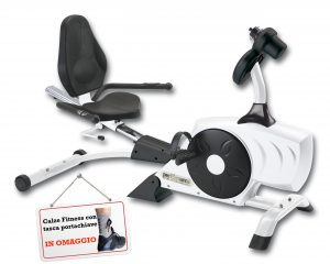 Cyclette Recumbent Bike DRAGONFLY con Calze Omaggio-0