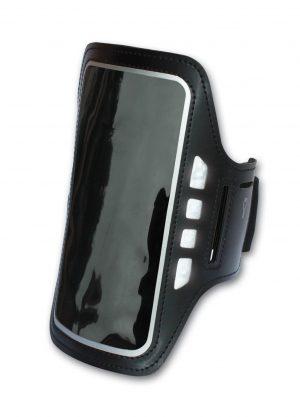 Fascia Porta Cellulare Smartphone 5'' da Braccio con Led-0